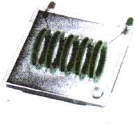 Магнитные линии катушки с током